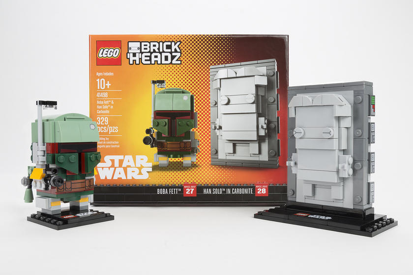 LEGO Star Wars 41498 Boba Fett & Han Solo in Carbonite